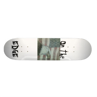 On The Edge American Eagle Skateboard