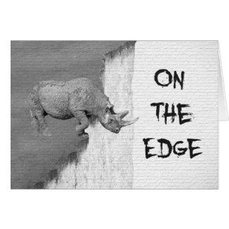 On The Edge Card