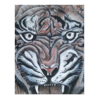 On The Edge-Tiger Letterhead