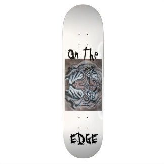 On The Edge Tiger Skateboard