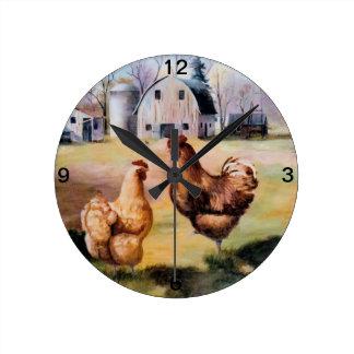 On the Farm Clock