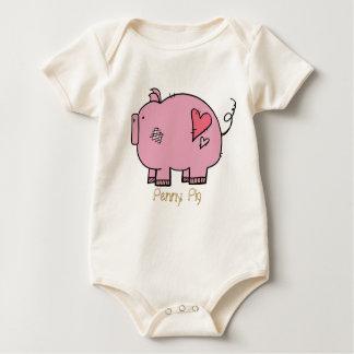 On The Farm: Penny Pig Onsie Bodysuit
