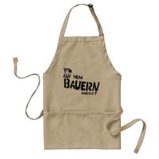 On the farmer s market apron