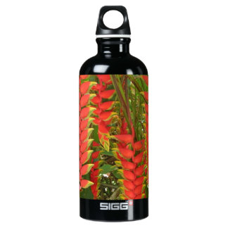 On the go? Take Hawaiian Flowers with you Water Bottle