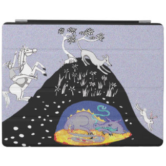 On the hunt for hidden treasure iPad cover