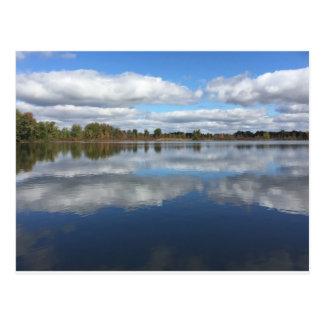 On The Lake Postcard