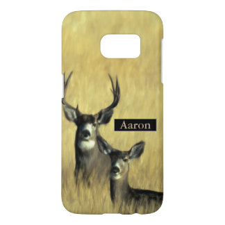 On the Lookout Mule Deer Samsung Galaxy S7 Case