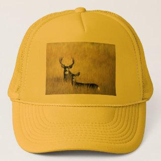 On the Lookout Mule Deer Trucker Hat