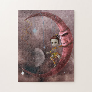 on the moon jigsaw puzzle