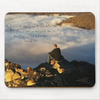 ON THE MOUNTAIN MOUSE PAD