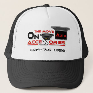 On The Move Auto Trucker Hat