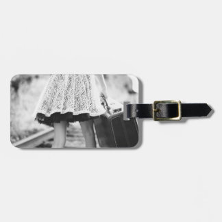 On the Move Luggage Tag