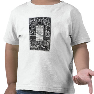 'On the Origin and History of Typography' T Shirts