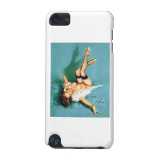On the Phone - Vintage Pin Up Girl iPod Touch 5G Covers