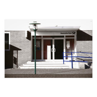On the post office photo print