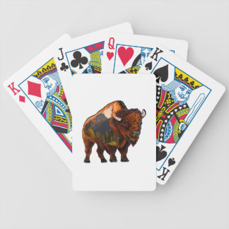 On the Prairie Bicycle Playing Cards