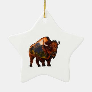 On the Prairie Ceramic Ornament