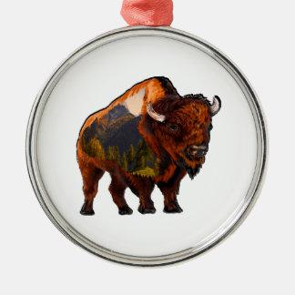 On the Prairie Metal Ornament