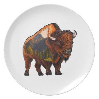 On the Prairie Plate