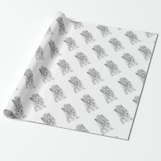 On the Prowl A Young Bobcat Wrapping Paper