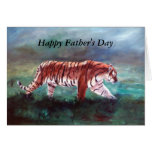On the Prowl, Happy Father's Day Greeting Card