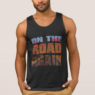 on the road  again free spirit Biker tshirt design