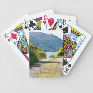 On the Road Bicycle Playing Cards
