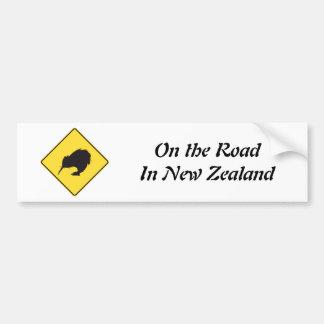 On the Road Bumper Sticker