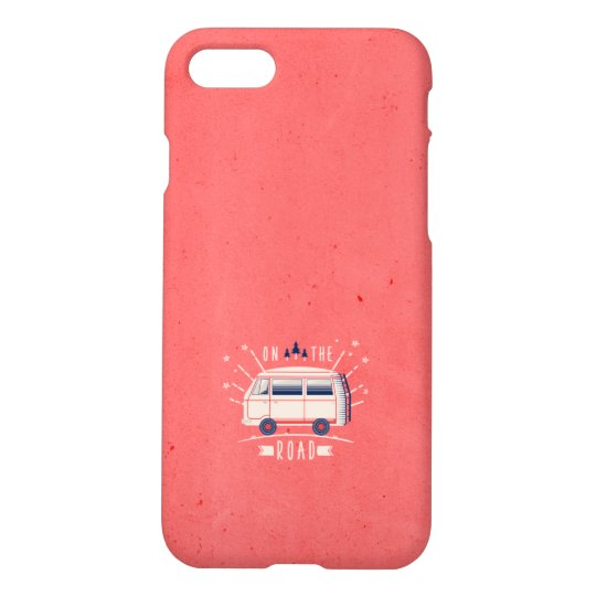 On The Road - Pink iPhone 7 Case