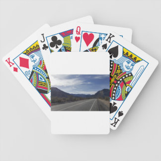 on the road to mt charleston nv bicycle playing cards