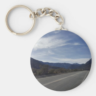 on the road to mt charleston nv keychain