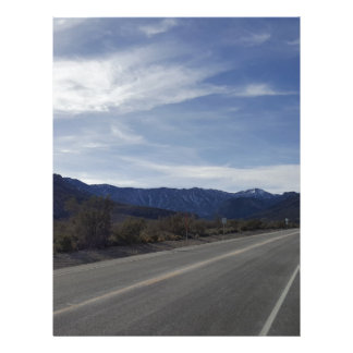 on the road to mt charleston nv letterhead template