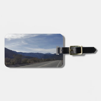 on the road to mt charleston nv luggage tag
