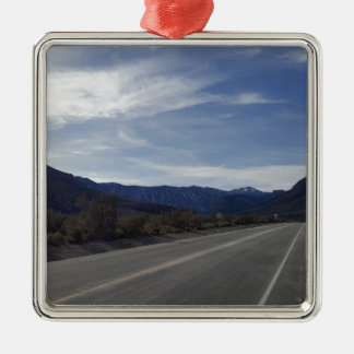 on the road to mt charleston nv metal ornament
