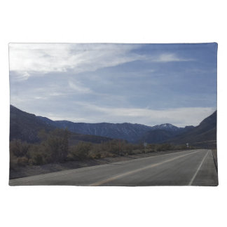 on the road to mt charleston nv placemat
