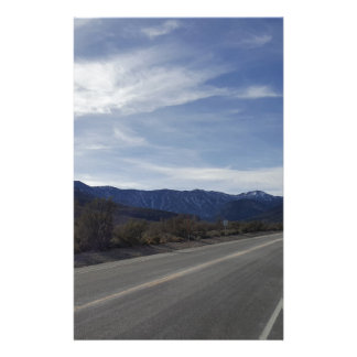 on the road to mt charleston nv stationery