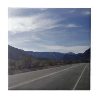 on the road to mt charleston nv tile