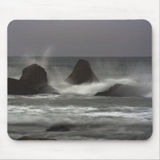 On The Rocks - White Point Beach, NS Mouse Pad