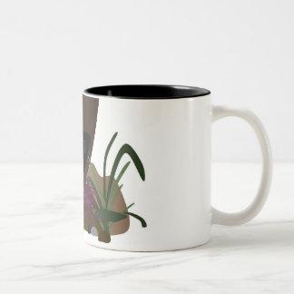 On the Run Two-Tone Coffee Mug