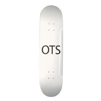 On The Scene -or- On The Spot -or- Off The Shelf a Skate Board Deck