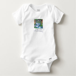 On the Seventh Day of Christmas Baby Onesie