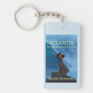 On the Shores of Forever Keychain