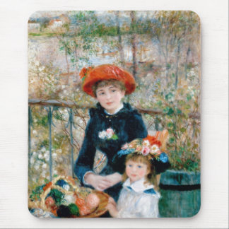 On the Terrace by Pierre-Auguste Renoir 1881 Mouse Pad