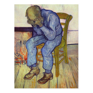 On the Threshold of Eternity - Vincent Van Gogh Postcard