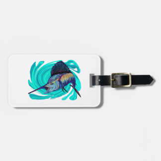 ON THE TRAIL LUGGAGE TAG