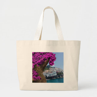 On the trips you see the wonder of different world large tote bag