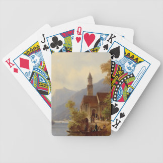 On the Way to Mass Bicycle Playing Cards