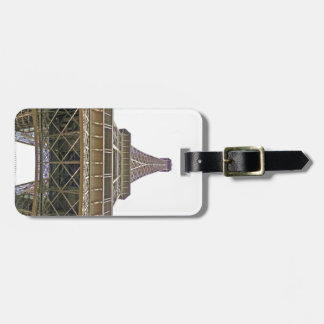 On the way to the top of the Eiffel Luggage Tag