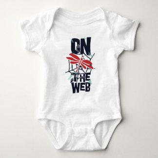 On The Web Baby Bodysuit