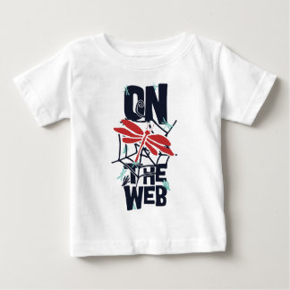 On The Web Baby T-Shirt